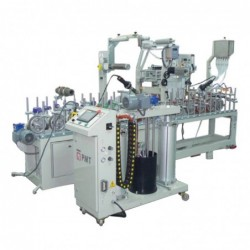 Eco Pur Hotmelt Glue Profile Wrapping Machine WLTLM300W4P