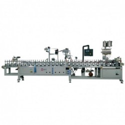 Pur Hotmelt Double Side Profile Wrapping Machine WLTLM300DSP