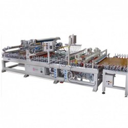 Pur Hotmelt Glue Panel Wrapping Machine for Wood	WLTLM13007P